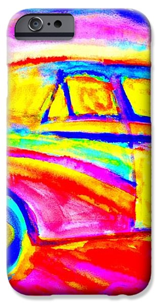 Driving home  iPhone Case by Hilde Widerberg