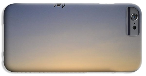 Regulations iPhone Cases - Drone At Sunset iPhone Case by Dan Sproul