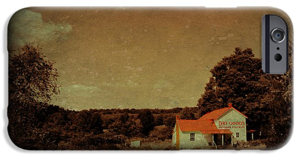 Shed Mixed Media iPhone Cases - Dry Goods iPhone Case by Living Waters Photography