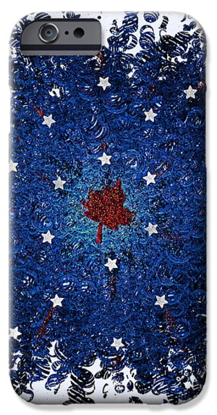 Dual Citizenship 1 iPhone Case by First Star Art