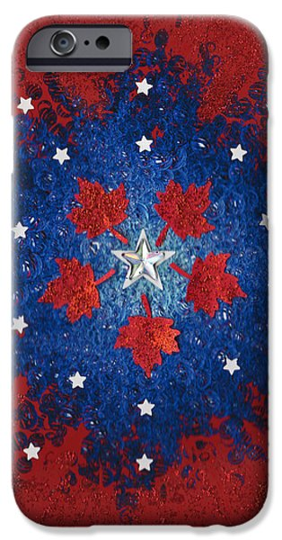 Dual Citizenship 2 iPhone Case by First Star Art
