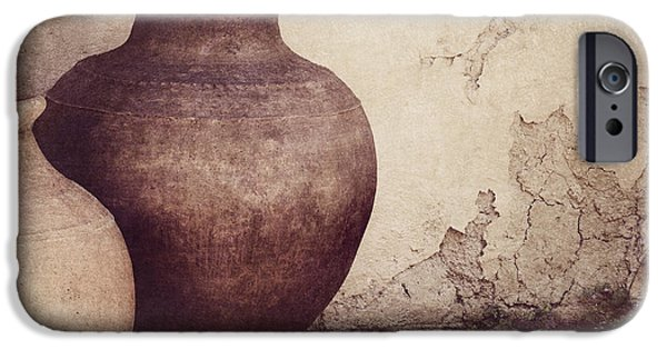 Pottery iPhone Cases - Duality iPhone Case by Amy Weiss