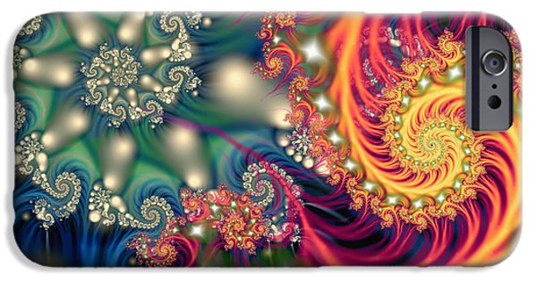 Opposing Forces iPhone Cases - Duality iPhone Case by Mary Almond