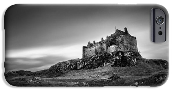 13th Century iPhone Cases - Duart Castle iPhone Case by Dave Bowman