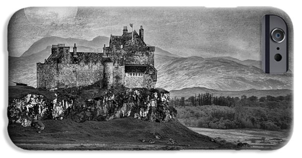 United iPhone Cases - Duart Castle Scotland iPhone Case by Juli Scalzi