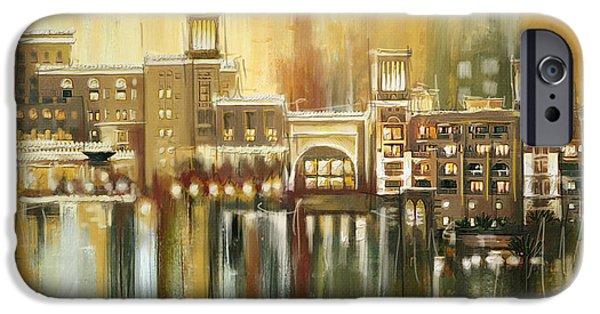 Corporate Art iPhone Cases - Dubai Monumental Art iPhone Case by Corporate Art Task Force