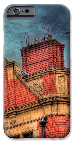 Dublin House Roof Top iPhone Case by Juli Scalzi