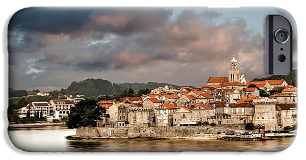 Historic Site iPhone Cases - Dubrovnik iPhone Case by Maria Coulson