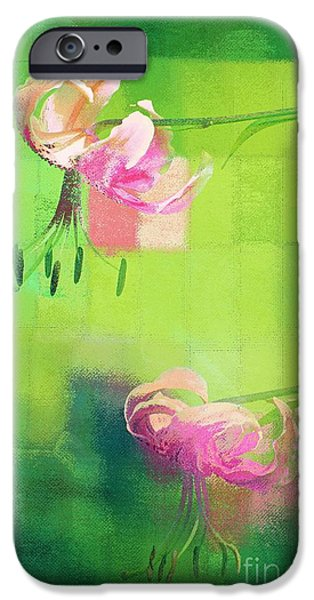 Hotel-room iPhone Cases - Duet - j052064173gr iPhone Case by Variance Collections