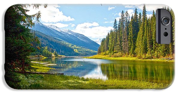 Randy Moss Photographs iPhone Cases - Duffy Lake 1 iPhone Case by Randy Giesbrecht