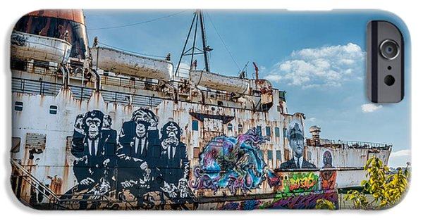 Hear iPhone Cases - Duke Graffiti  iPhone Case by Adrian Evans