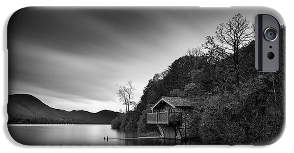 Dave iPhone Cases - Duke of Portland Boathouse iPhone Case by Dave Bowman