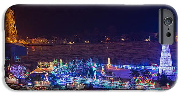 Inexpensive iPhone Cases - Duluth Christmas Lights iPhone Case by Paul Freidlund