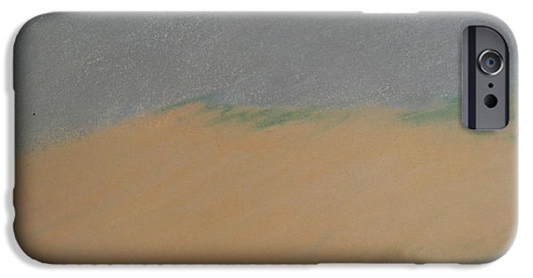 Sand Dunes Pastels iPhone Cases - Dune iPhone Case by Kathleen Dunn