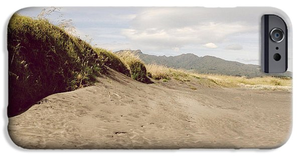 Sand Dunes iPhone Cases - Dune iPhone Case by Les Cunliffe