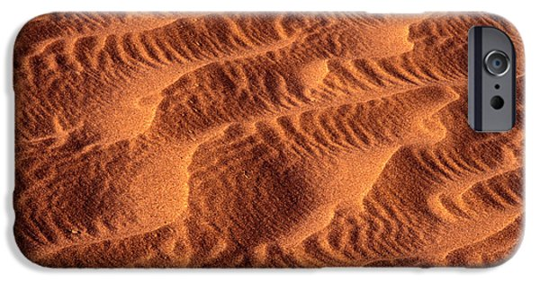 Sand Patterns iPhone Cases - Dune Patterns - 241 iPhone Case by Paul W Faust -  Impressions of Light