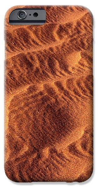 Dune Patterns - 241 iPhone Case by Paul W Faust -  Impressions of Light