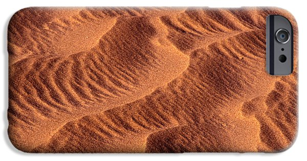 Sand Patterns iPhone Cases - Dune Patterns - 242 iPhone Case by Paul W Faust -  Impressions of Light