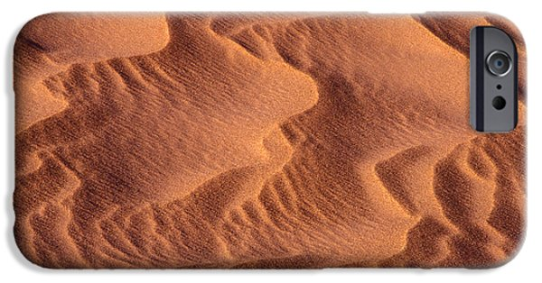 Sand Patterns iPhone Cases - Dune Patterns - 245 iPhone Case by Paul W Faust -  Impressions of Light