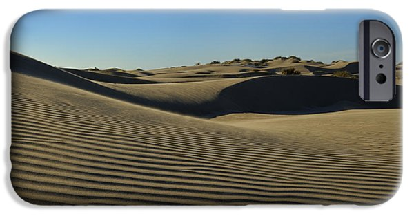 Sand Dunes Pyrography iPhone Cases - Dunes iPhone Case by Albert Garrido