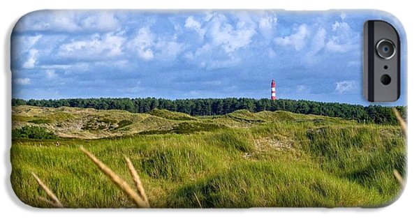 North Sea iPhone Cases - Dunes near the Baltic Sea iPhone Case by Mountain Dreams