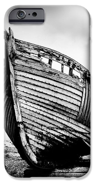 Fishing Boat iPhone Cases - Boat Three iPhone Case by Mark Rogan