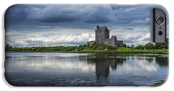 Recently Sold -  - River iPhone Cases - Dunguaire Castle iPhone Case by Svetlana Sewell