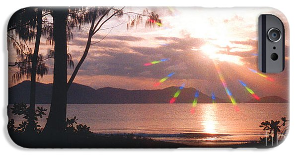 Dunk iPhone Cases - Dunk Island Australia iPhone Case by Jerome Stumphauzer