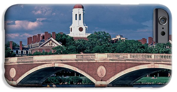 Recently Sold -  - Charles River iPhone Cases - Dunster House Weeks Bridge iPhone Case by Tom Wurl