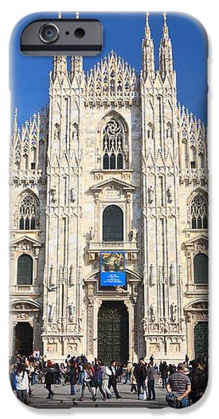Duomo in Milano. Italy iPhone Case by Antonio Scarpi