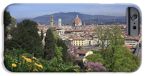 Recently Sold -  - Built Structure iPhone Cases - Duomo View from the Boboli Gardens Florence Italy  iPhone Case by Ivan Pendjakov