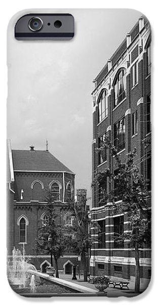 Duquesne University Chapel and Canevin Hall iPhone Case by University Icons
