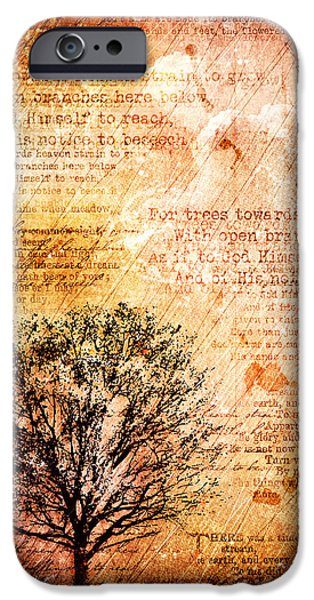 Tree Art Print iPhone Cases - Dusk Soliloquy iPhone Case by Gary Bodnar