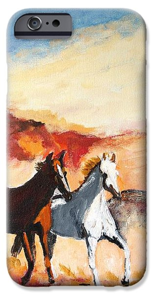 Dust in the Wind iPhone Case by Judy Kay