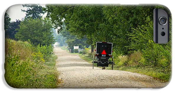 Amish Photographs iPhone Cases - Dusty August iPhone Case by David Arment
