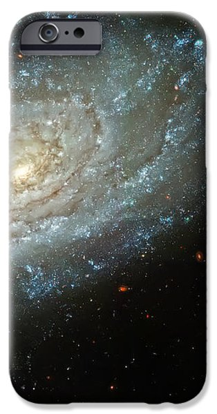 Dusty Galaxy iPhone Case by The  Vault - Jennifer Rondinelli Reilly