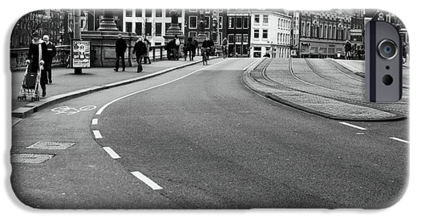 Monotone iPhone Cases - Dutch Day Walkers iPhone Case by John Rizzuto