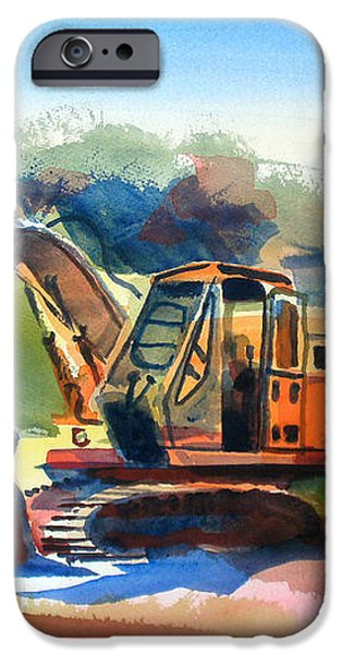 Duty Dozer iPhone Case by Kip DeVore