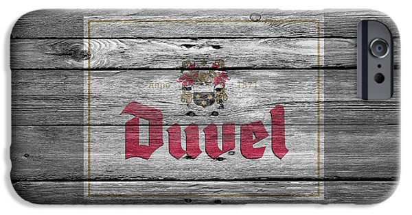 Sign iPhone Cases - Duvel iPhone Case by Joe Hamilton