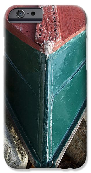 Chip iPhone Cases - Duxbury Skiff iPhone Case by Charles Harden