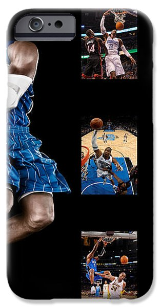 DWIGHT HOWARD iPhone Case by Joe Hamilton