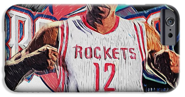 Malone iPhone Cases - Dwight Howard iPhone Case by Taylan Soyturk