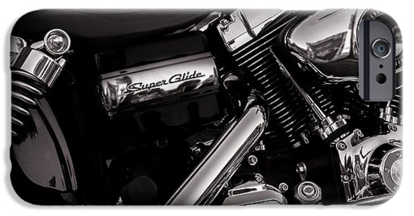 Corporate Photographs iPhone Cases - Dyna Super Glide Custom iPhone Case by Bob Orsillo
