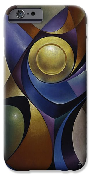 Glass Of Wine Paintings iPhone Cases - Dynamic Chalice iPhone Case by Ricardo Chavez-Mendez