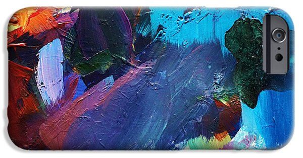 Abstract Expressionist iPhone Cases - Dynamic iPhone Case by John Clark