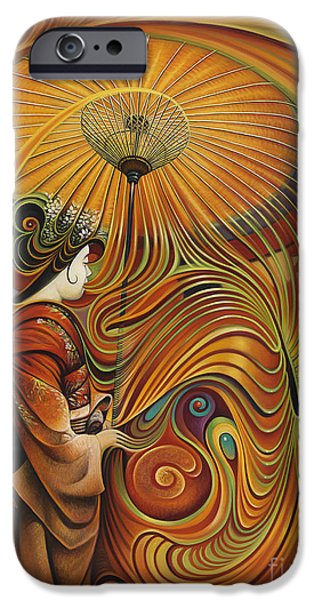 Dynamic iPhone Cases - Dynamic Oriental iPhone Case by Ricardo Chavez-Mendez
