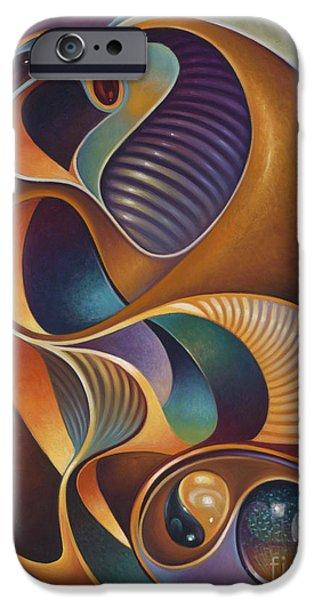 Dynamic Series #23 iPhone Case by Ricardo Chavez-Mendez