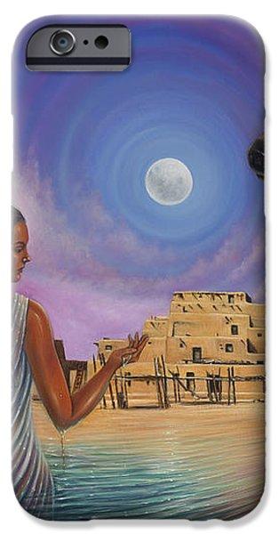 Dynamic Taos Il iPhone Case by Ricardo Chavez-Mendez