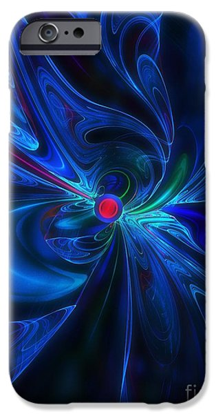 Dynamism iPhone Cases - Dynamism iPhone Case by Klara Acel