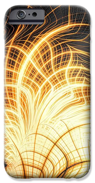 Combustion iPhone Cases - E M B E R iPhone Case by Charles Dobbs